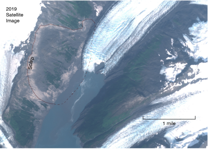 Barry Arm landslide