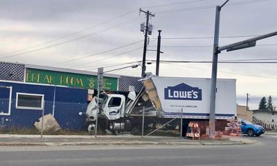 Lowe's crash