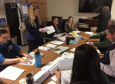 Denali Borough office prepares ballots for mailing