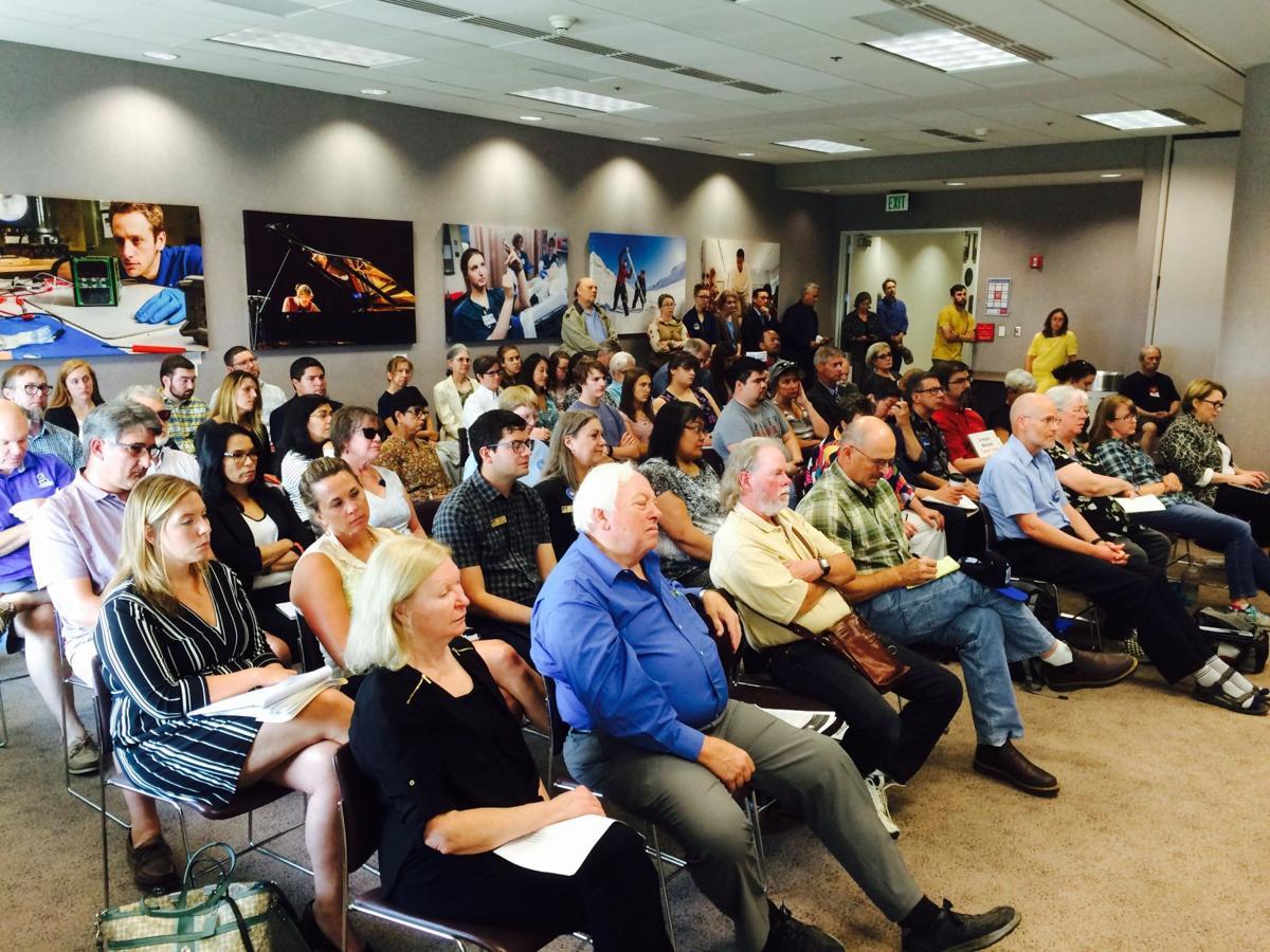 UA financial exigency meeting