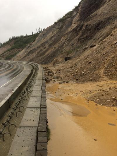 Parks Highway flooding