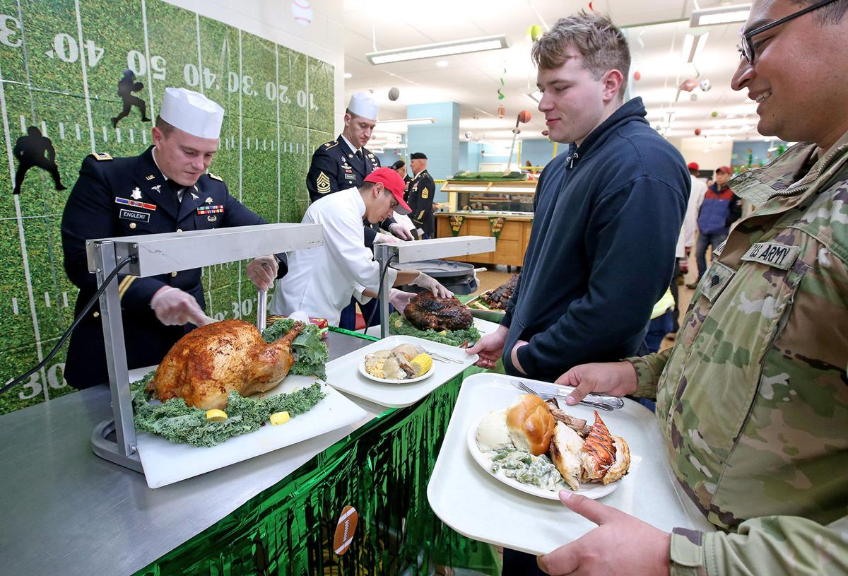 Fort Wainwright Thanksgiving Lunch
