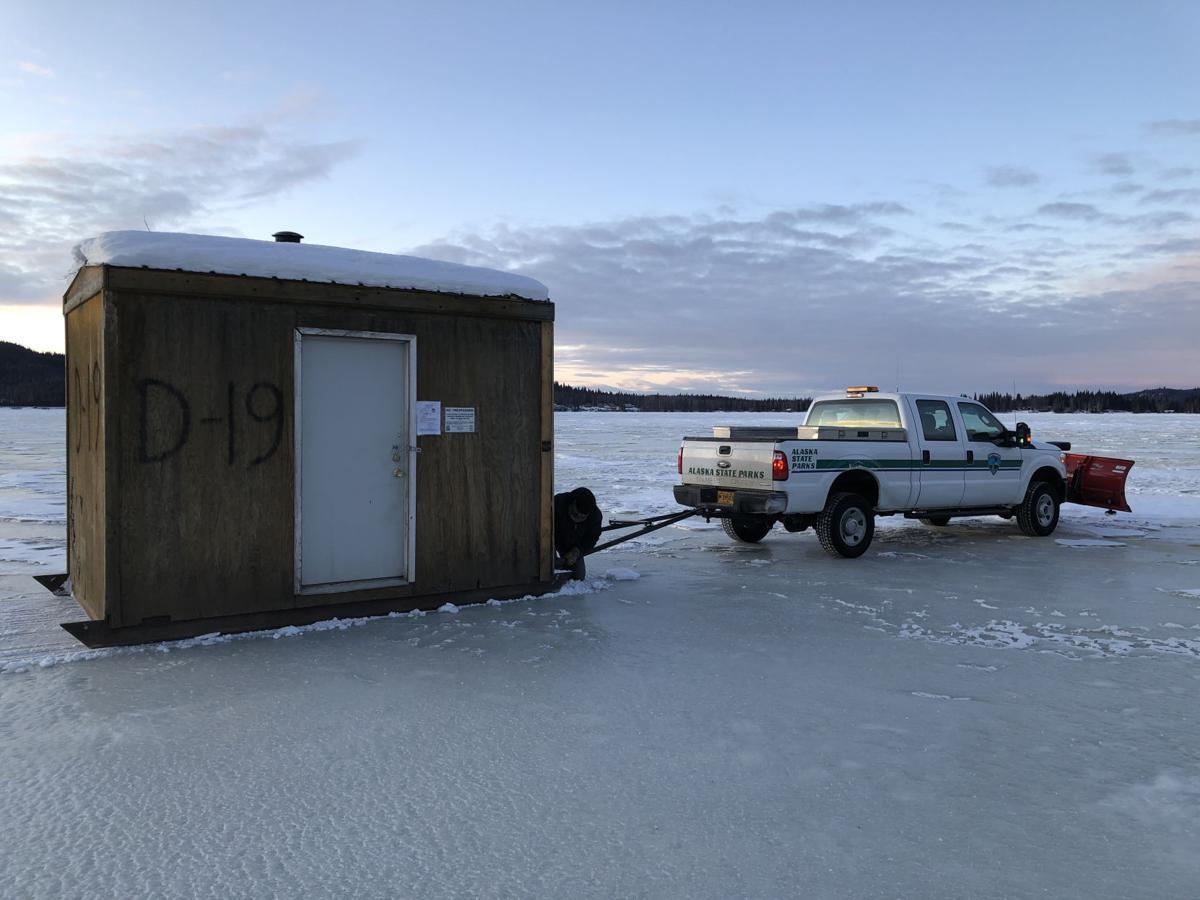 Ice huts