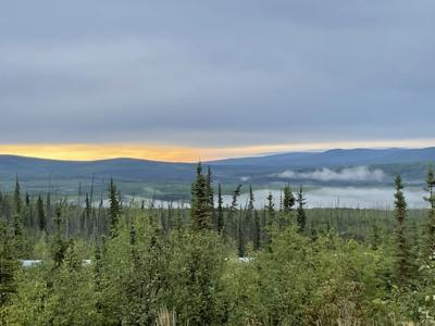 View from above Hess Creek