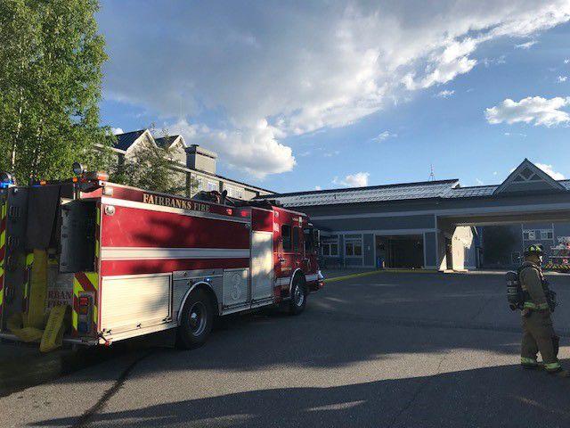 Fire at Fairbanks Princess