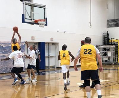 Senior Games basketball
