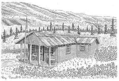 Fannie Quigley's cabin