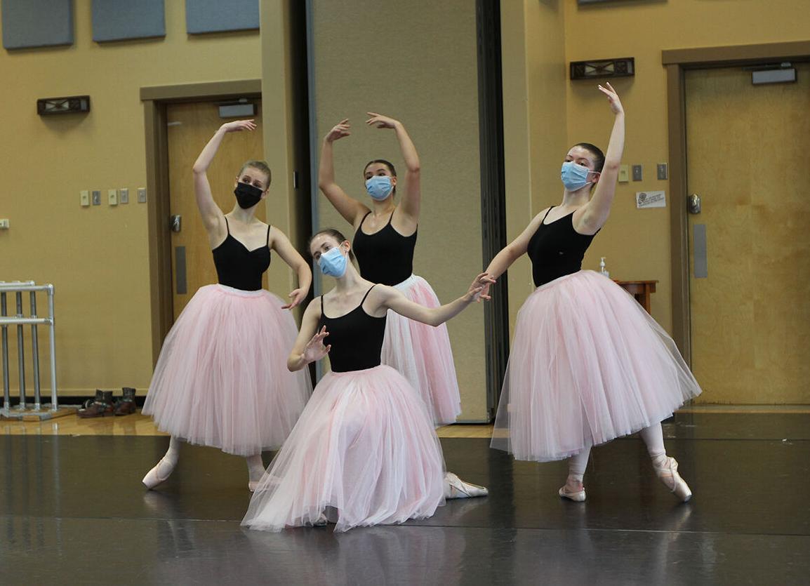 North Star Ballet rehearsal