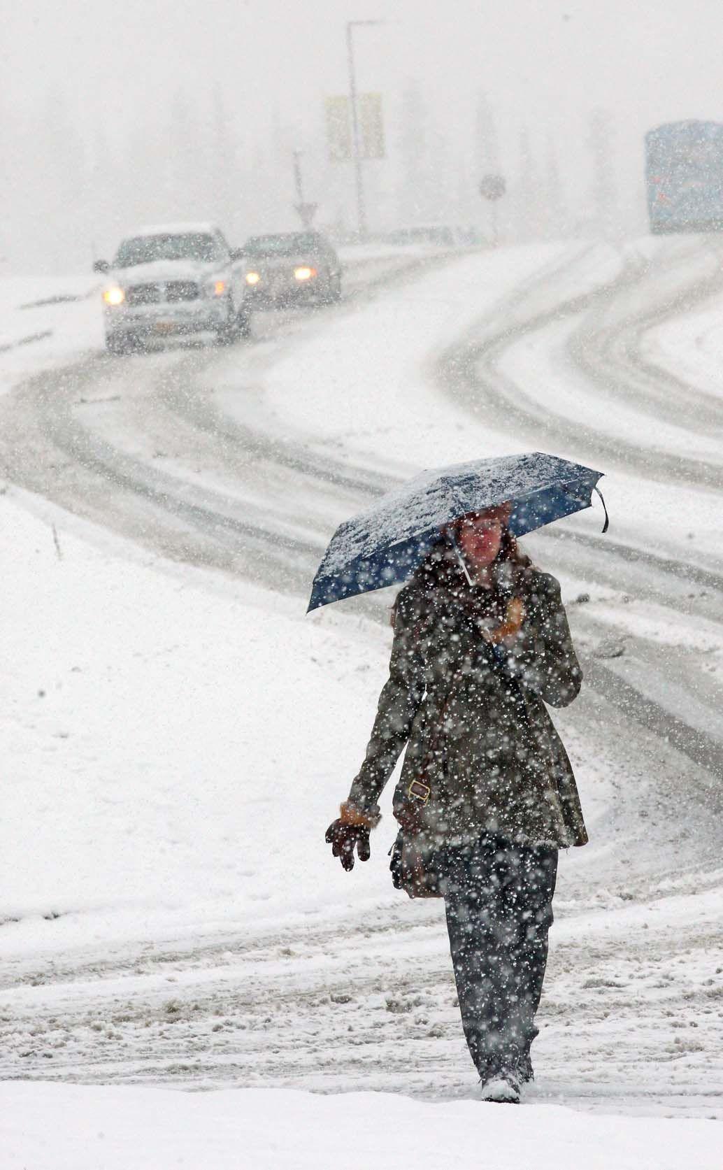Snow Blankets Fairbanks