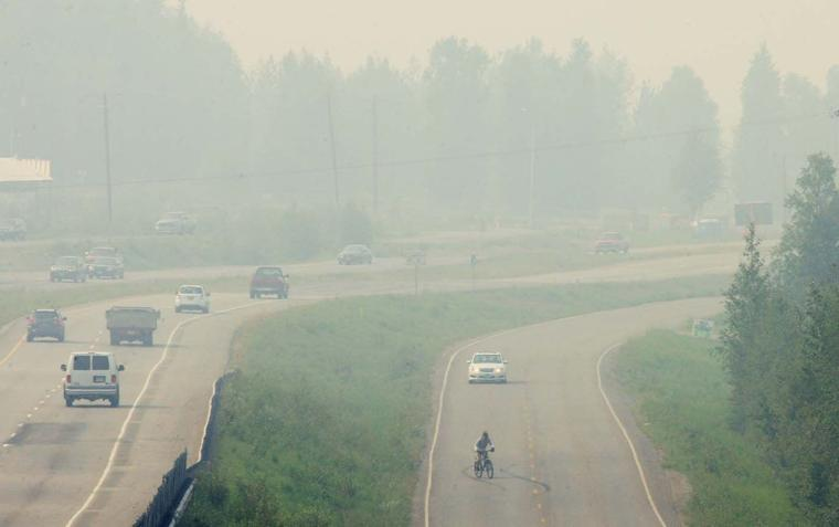 Air quality declines in Fairbanks, North Pole as wildfire ...