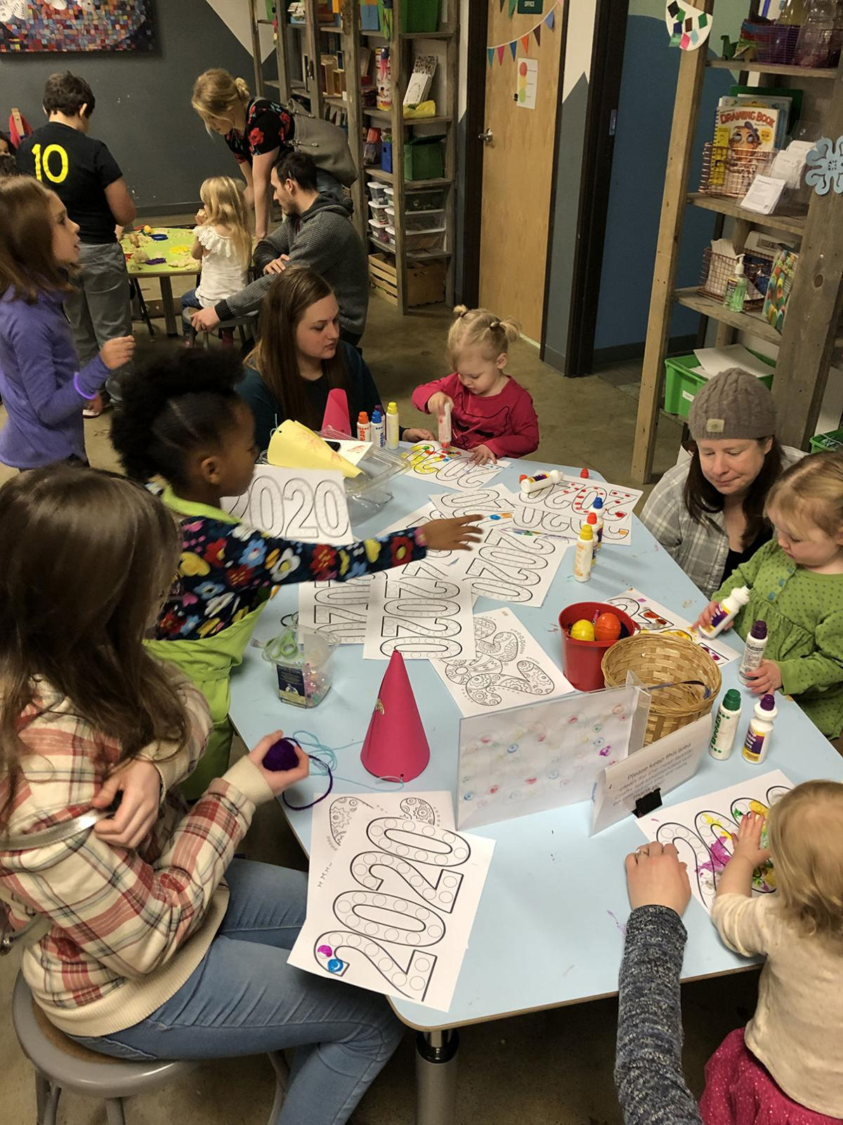 New Year's Eve at Children's Museum