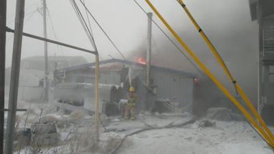 Bayside Restaurant fire