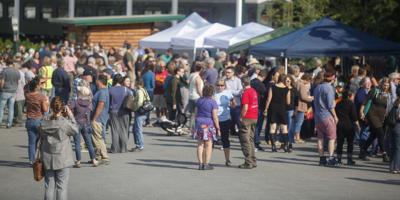 Dunleavy recall event in Fairbanks