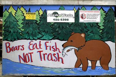 Bear-Proof Trash Bins