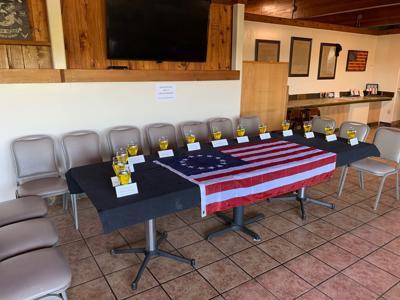 Tribute to fallen service members