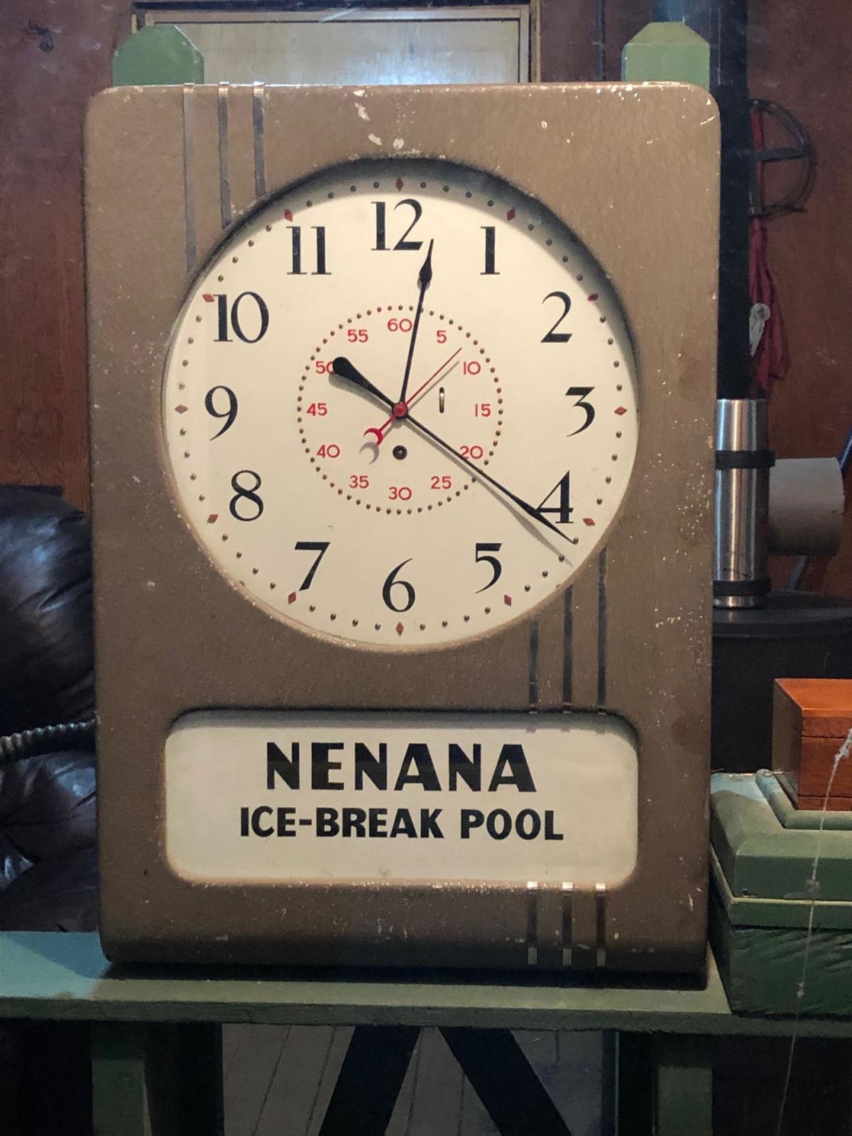 2019 Nenana Ice Classic clock