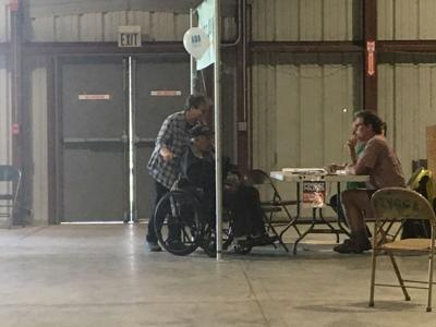 Dunleavy Recall booth at Tanana Valley State Fair