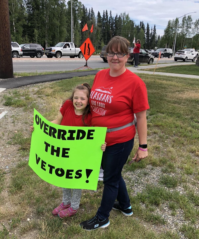 Head Start veto rally