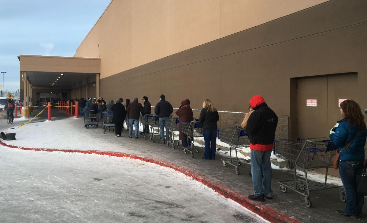 Traffic steady but less hectic on day 2 of Sam's Club ...