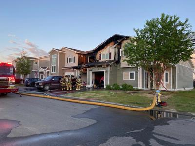 Fire in Fort Wainwright housing unit