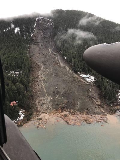 Alaska Army National Guard assist in search and rescue in Haines after major landslide