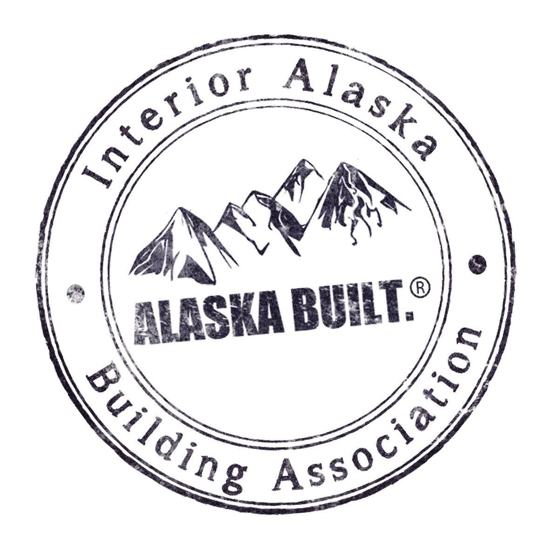 ALASKA BUILT. logo