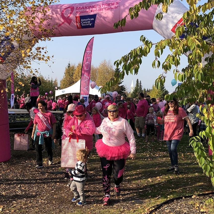 Making Strides Against Breast Cancer walk raises more than $60,000
