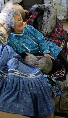 Famed Alaska seamstress lands role in 'Whales' movie
