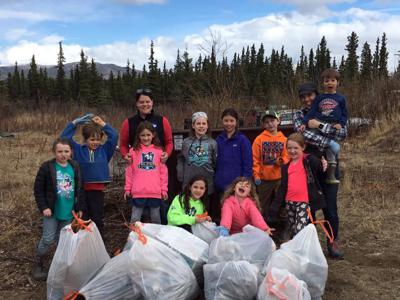 No Plastic May, Kelty's cleanup