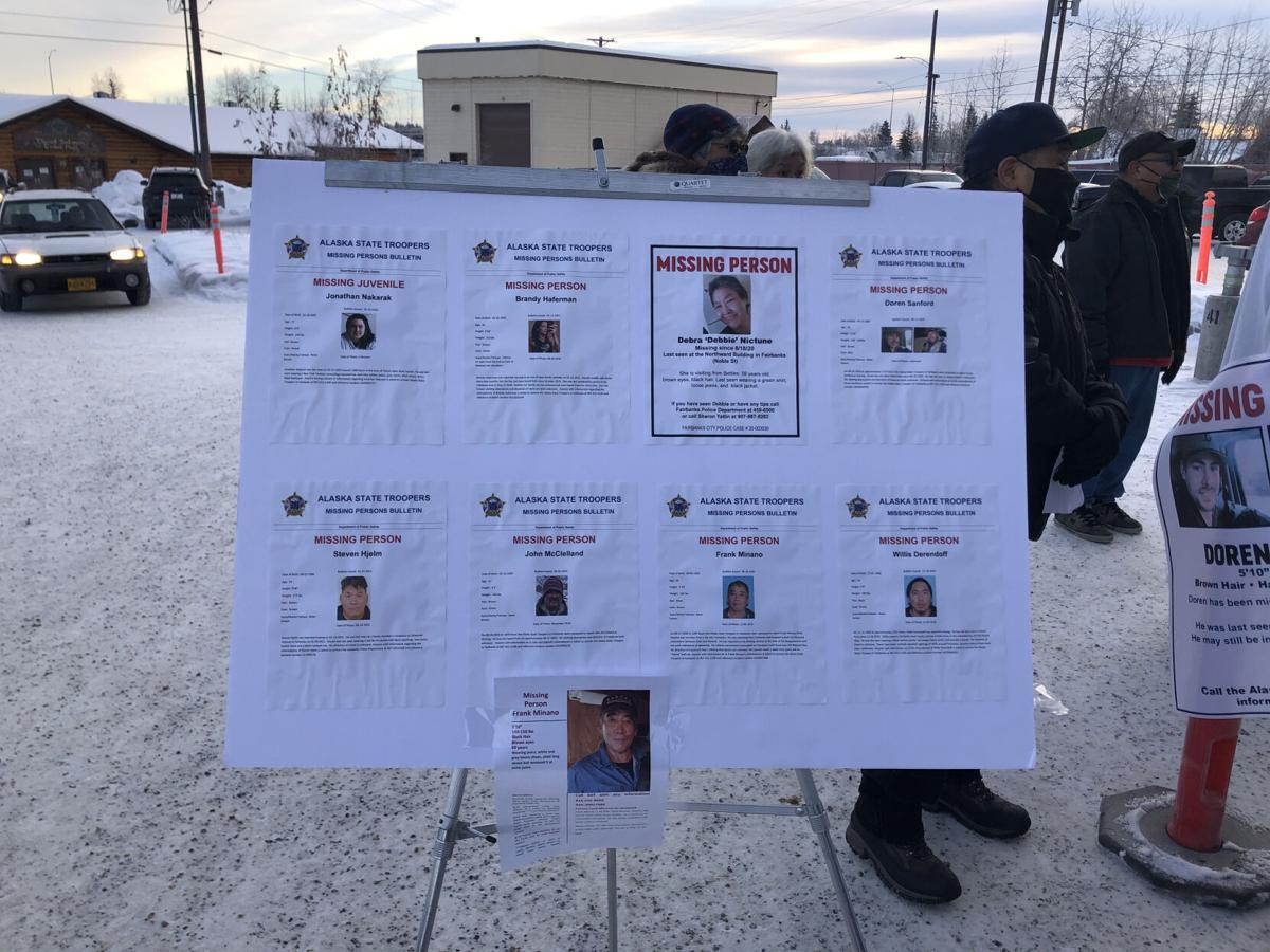 Missing persons vigil