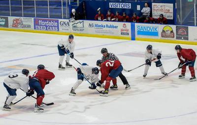 Ice Dogs Practice