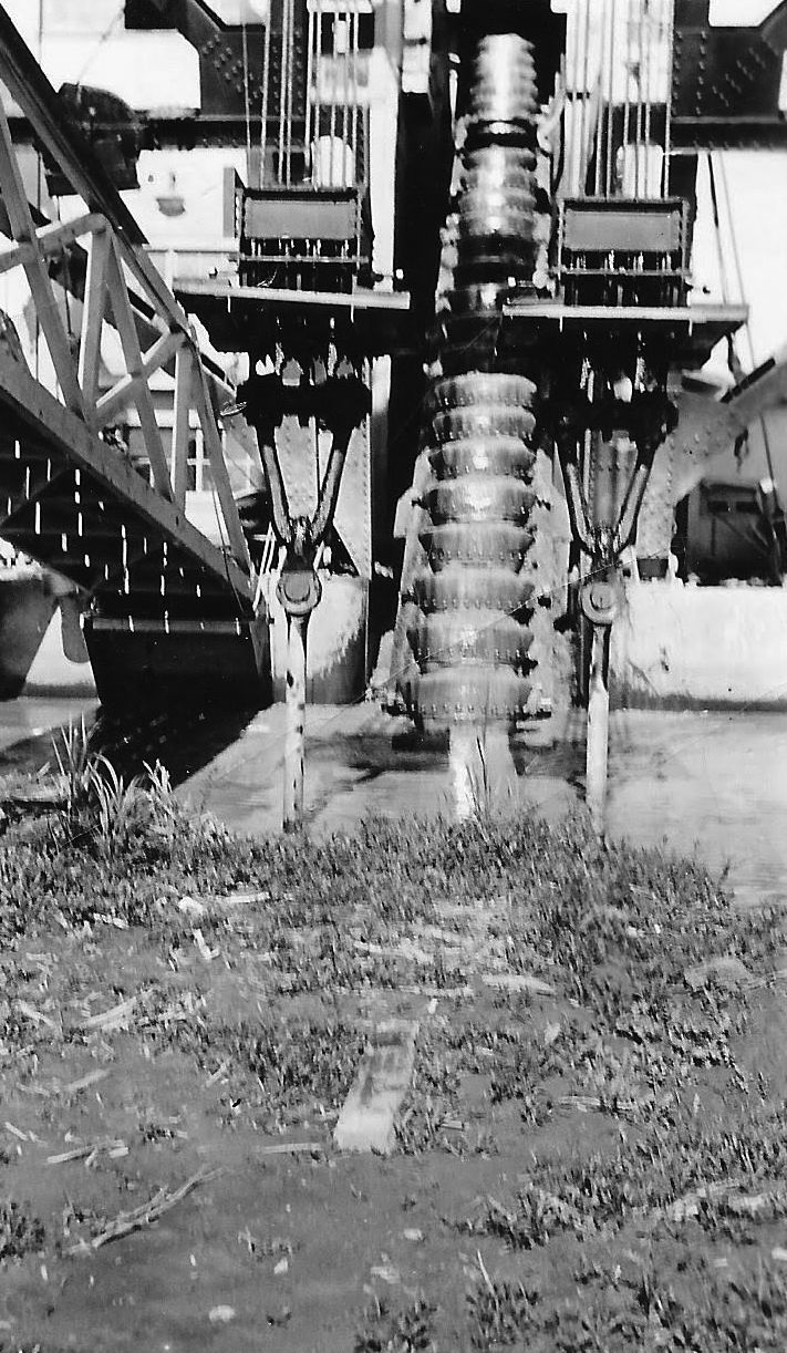 Gold dredge no 8 and fairbanks circa 1934 featured newsminer the bucketline on gold dredge 8 sciox Images