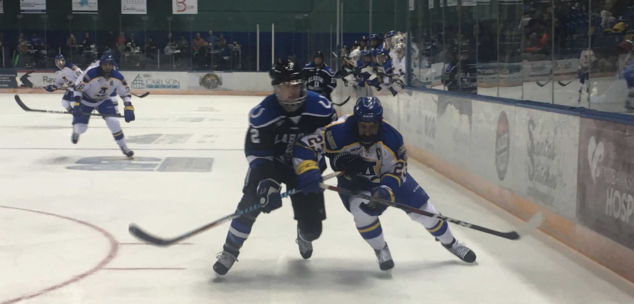 WCHA: Lance West, Chargers Top Nanooks For First Victory