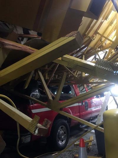 Ester Volunteer Fire Department collapsed