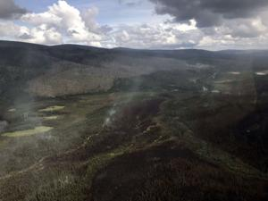 Dwindling Shovel Creek Fire still poses risk to hikers