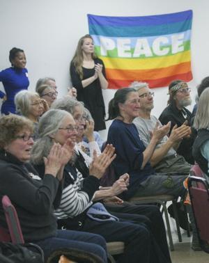 Fairbanks ceremony calls for return to armistice