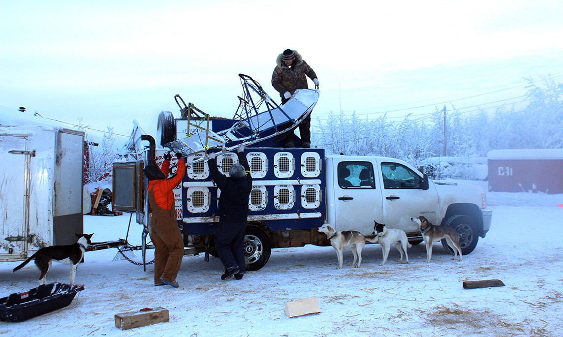 Yukon Quest 2020 - Denis Tremblay