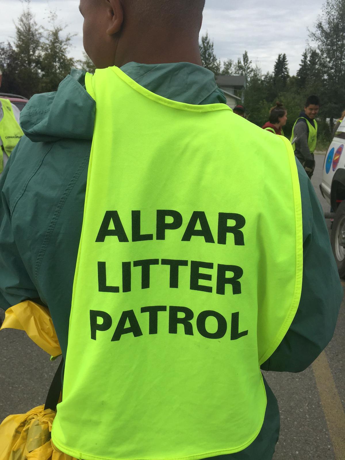 Litter patrol vest