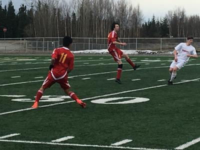 West Valley boys hold off Wasilla for 2-1 win