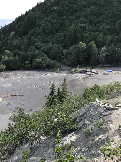 Obrien Creek Floods Chitina Fish Cleaning Area Local News