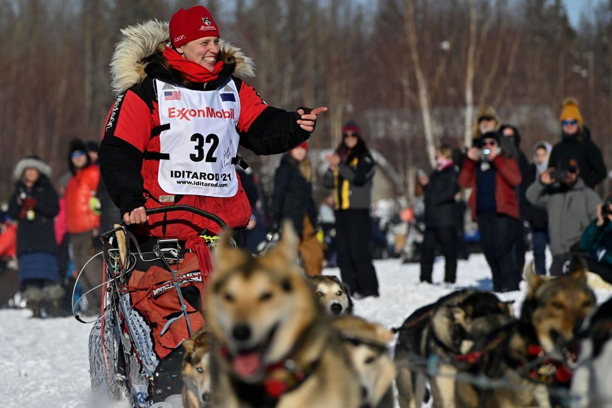 Aliy Zirkle 2021 Iditarod