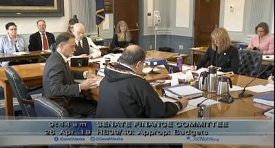 Senate Finance Committee hearing (copy)