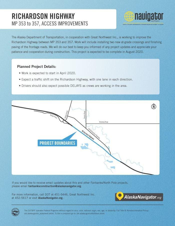 Richardson Highway access
