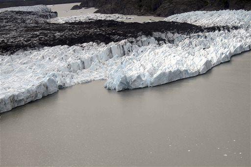 Alaska Glacier Remains