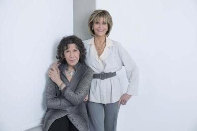 fa263b9ef35563 Jane Fonda and Lily Tomlin savor senioritis as 'Grace and Frankie ...