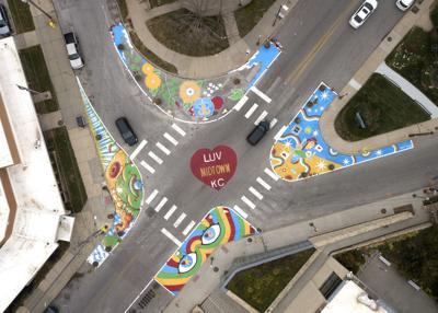 Roadway in Kansas City