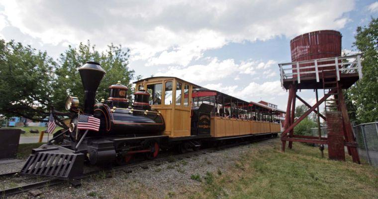 Pioneer Park Train Ride