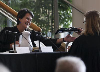 Installation of Alaska Supreme Court Justice Susan Carney