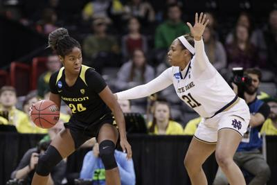 NCAA Oregon Notre Dame Basketball