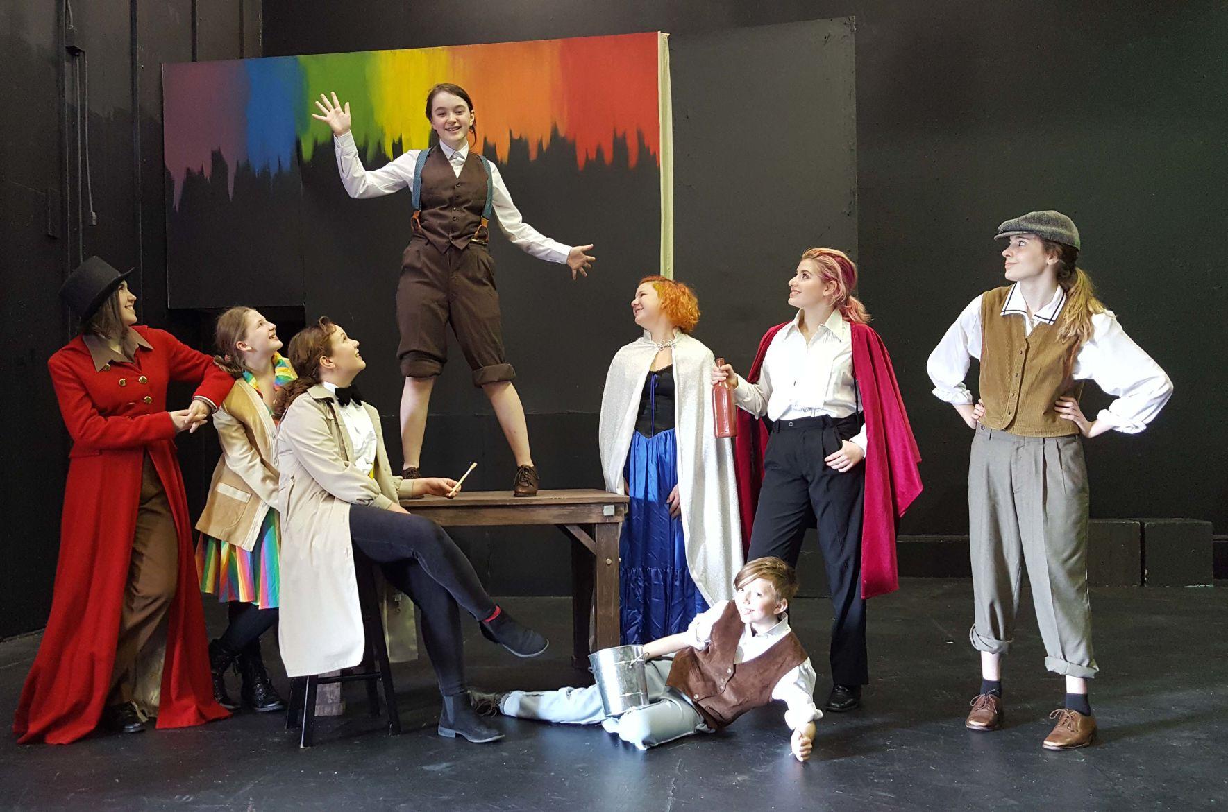 teen drama camp brings \u0027pinocchio\u0027 to the stage latitude Too Much Drama